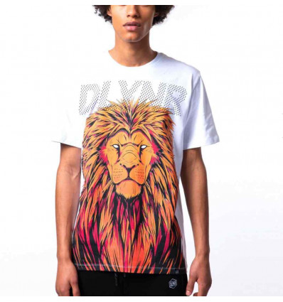 DOLLY NOIRE LION TEE T-shirt manica corta uomo madiba 19