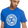 DC CIRCLE STAR NAUTICAL BLUE T-SHIRT A MANICA CORTA DA UOMO