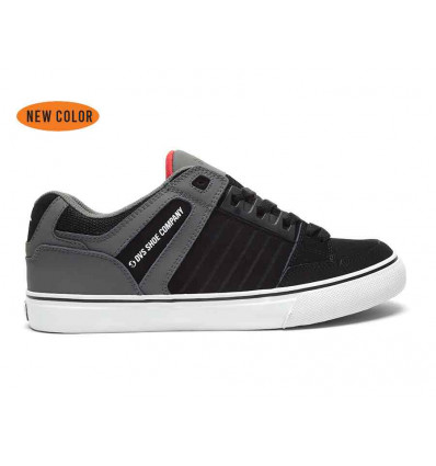 DVS CELSIUS CT BLACK/CHARCOAL/RED SNEAKERS BASSE UOMO