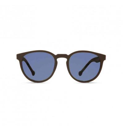 PARAFINA CAMINO brn blu ECO RUBBER occhiale da sole unisex in eco gomma con lent