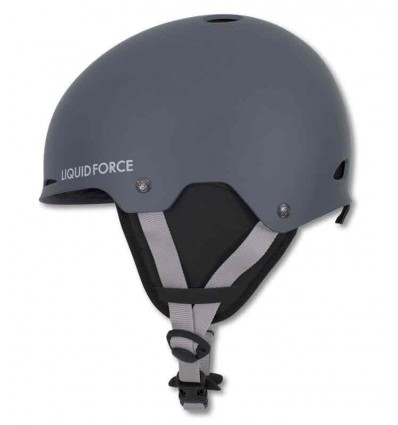 LIQUID FORCE CASCO WAKEBOARD CON PARAORECCHIE NICO SLATE