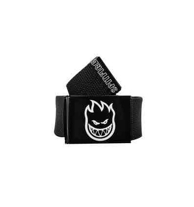 SPITFIRE SF BELT BH HOMBRE OUTLINE BLACK CINTURA TAGLIA UNICA