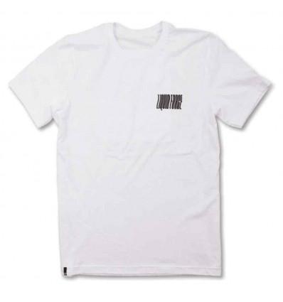 LIQUID FORCE NOODLE WHITE t-shirt manica corta uomo