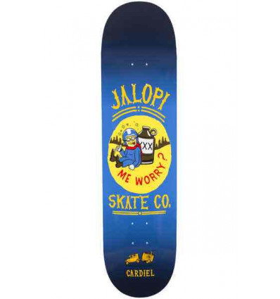 """ANTI HERO CARDIEL JALOPI SKATE CO 8.28"""" con GRIP OMAGGIO Tavola skate"""