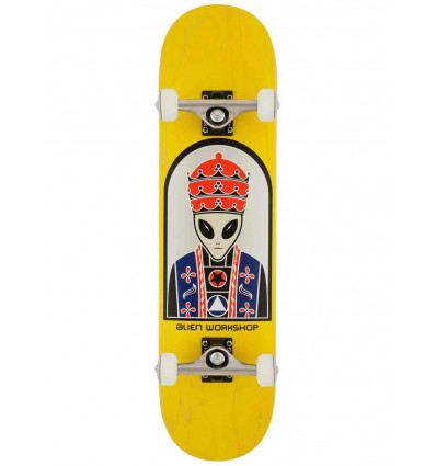 ALIEN WORKSHOP PRIEST (YELLOW) SKATE COMPLETO PROFESSIONALE