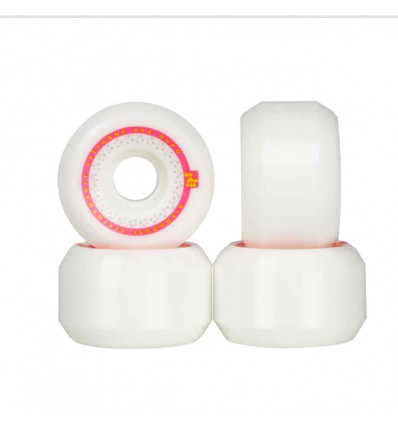 BIRDHOUSE MAINLINER - PINK/YELLOW 54 mm Ruote da skate 99A