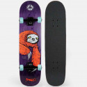 WELCOME SLOTH ON BUNYIP SHAPE CORAL/PURPLE STAIN SKATE ASSEMBLATO PROFESSIONALE