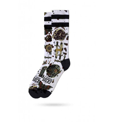 AMERICAN SOCKS SIGNATURE ARMSTRONG MID HIGH CALZE UNISEX SKATE