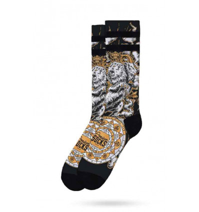 AMERICAN SOCKS SIGNATURE ALCHEMY CHIMERA MID HIGH CALZE UNISEX SKATE