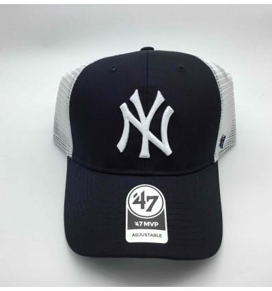 47 BRAND CAPPELLINO NEW YORK YANKEES NY UNISEX TRUCKER NAVY