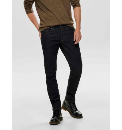 ONLY E SONS WEFT RINSE JEANS UOMO REGULAR FIT