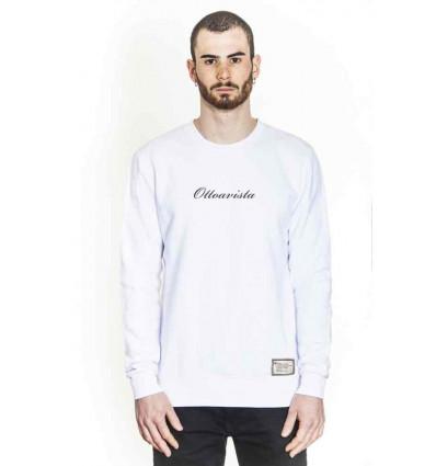 OTTOAVISTA sweatshirt white felpa da uomo