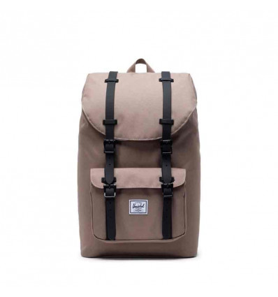 HERSCHEL little america pine bark black zaino unisex 24l porta pc 15""