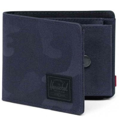 HERSCHEL ROY COIN RFID graphite/tonal portafoglio con portamonete