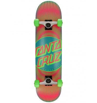 SANTA CRUZ vertigo ray dot 7,75 skate assemblato abec 7