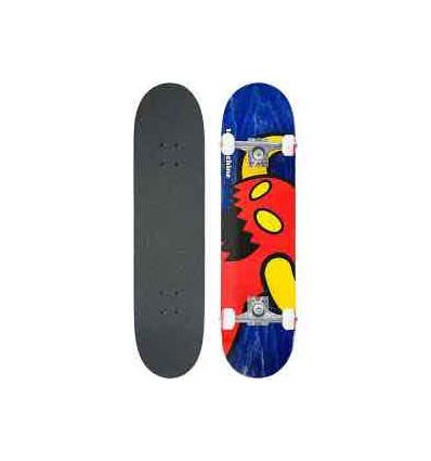 TOY MACHINE VICE MONSTER skate assemblato 7,75