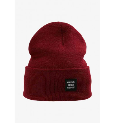 HERSCHEL ABBOTT beanie berretto unisex heather windsor wine