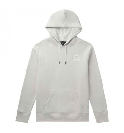HUF dystopia classic hoodie light grey felpa uomo
