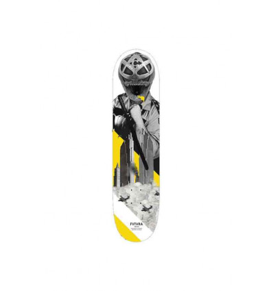 "FUTURA TWIM li yellow 8,00"" tavola skate con grip omaggio"