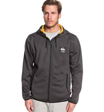 QUIKSILVER FELPA STARRUNNER hoodie felpa linea waterman con zip