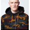 DOLLY NOIRE warmer camo zip hoodie felpa zip