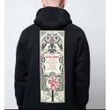 DOLLY NOIRE ivan zip hoodie felpa