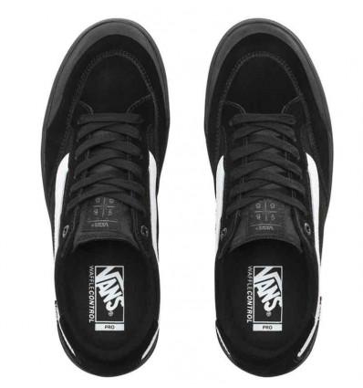 VANS BERLE PRO blk-blk-white scarpe skate