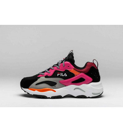 FILA RAY TRACER black pink yarrow sneakers donna