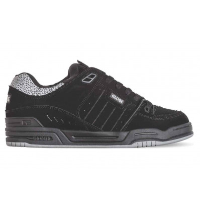 GLOBE fusion black-black-3m pebble sneakers unisex