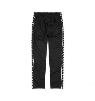 KAPPA 222 banda astoria pantalone triacetato slim blk/blk