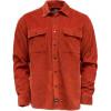 DICKIES IVEL rus camicia in velluto con taschino