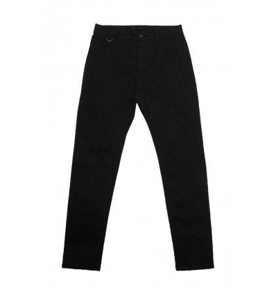 GLOBE goodstock chino pantalone nero uomo