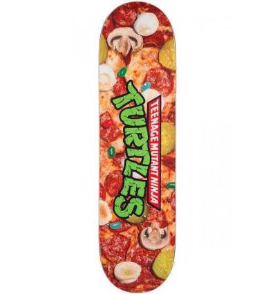 "SANTA CRUZ x tmtn pizza everslick tavola skate 8,25"" tartarughe ninja"