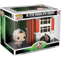 FUNKO POP ghostbusters dr peter venckman with firehouse