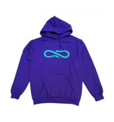 PROPAGANDA hoodie purple snake felpa unisex