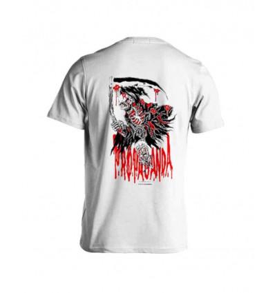 PROPAGANDA reaper madrioska white t-shirt