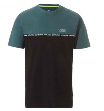 VANS taped colorblock trekkin t-shirt manica corta