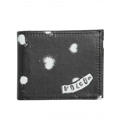 VOLCOM empty pu black portafoglio