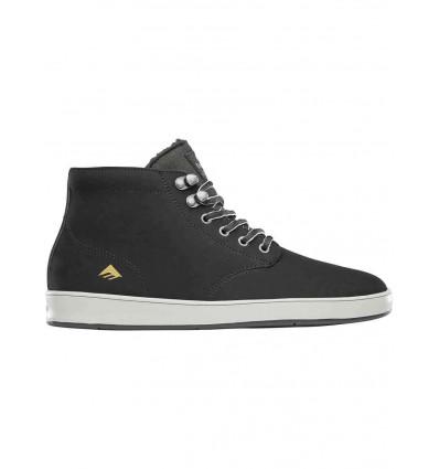 EMERICA romero laced high black scarpa in pelle