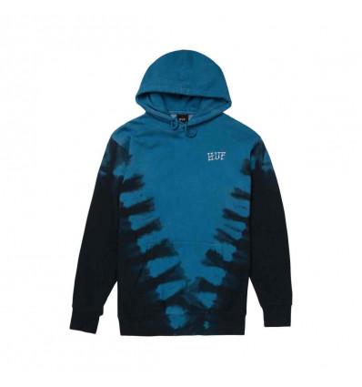 HUF prayers dyed hoodie felpa con cappuccio