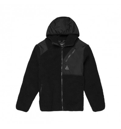 HUF aurora tech jacket blk giacca tecnica