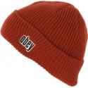 OBEY jungle beanie brick red berretto unisex