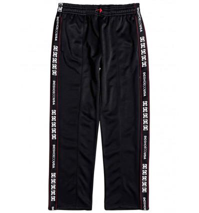 DC pelton pant black pantalone felpato tuta uomo