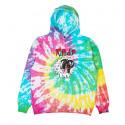 RIP N DIP nerm e jerm show hoodie raibow spiral felpa con cappuccio