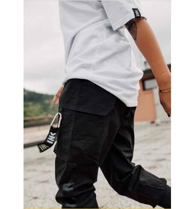 INKOVER streetwear hooker cargo 1 cargo unisex con orsetto esterno