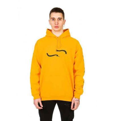 PROPAGANDA hoodie yellow decon felpa