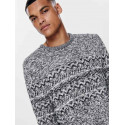 ONLY E SONS tomas 7 crew neck knit maglione uomo