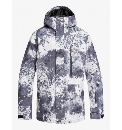QUIKSILVER giacca snow mission printed