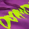 DOOMSDAY hoodie logo purple felpa con cappuccio