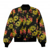 DOOMSDAY bomber jacket endless fight black bomber reversibile